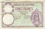 Algeria, 20 Franc, P-0078c