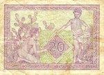 Algeria, 20 Franc, P-0092b