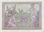 Algeria, 20 Franc, P-0092a