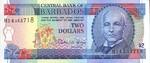 Barbados, 2 Dollar, P-0046