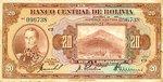 Bolivia, 20 Boliviano, P-0122a