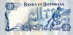 Botswana, 2 Pula, P-0002a