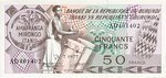 Burundi, 50 Franc, P-0028a v1