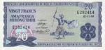 Burundi, 20 Franc, P-0021a