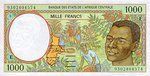 Central African States, 1,000 Franc, P-0202Ea