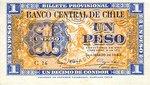 Chile, 1 Peso, P-0090c