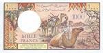 Djibouti, 1,000 Franc, P-0037c Sign.1