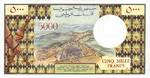Djibouti, 5,000 Franc, P-0038a