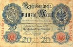Germany, 20 Mark, P-0031