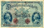 Germany, 5 Mark, P-0047c