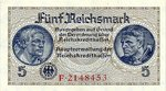 Germany, 5 Reichsmark, R-0138a