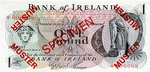 Ireland, Northern, 1 Pound, CS-0001 v2