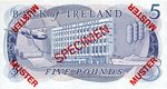 Ireland, Northern, 5 Pound, CS-0001 v2