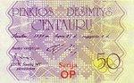 Lithuania, 50 Centauru,
