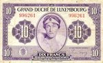 Luxembourg, 10 Franc, P-0044a