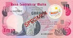 Malta, 10 Lira, CS-0001