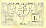 New Caledonia, 1 Franc, P-0052