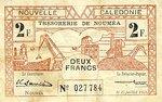 New Caledonia, 2 Franc, P-0053