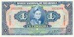 Nicaragua, 1 Cordoba, P-0091b