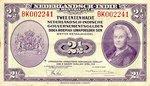 Netherlands Indies, 2.5 Gulden, P-0112a