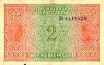 Poland, 2 Marka, P-0009