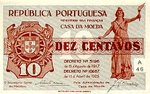 Portugal, 10 Centavo, P-0101