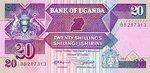 Uganda, 20 Shilling, P-0029a
