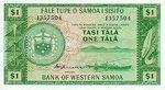 Western Samoa, 1 Tala, P-0016c