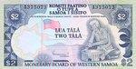 Western Samoa, 2 Tala, P-0020