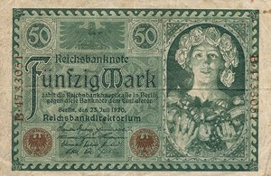 Germany, 50 Mark, P68