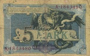 Germany, 5 Mark, P8b