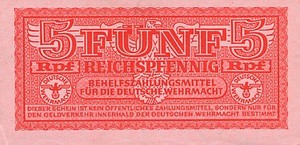 Germany, 5 Reichspfennig, M33