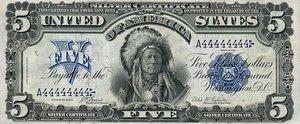 United States, The, 5 Dollar, P340
