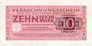 Germany, 10 Reichsmark, M40