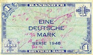 Germany - Federal Republic, 1 Deutsche Mark, P2a