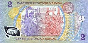 Samoa, 2 Tala, P31a