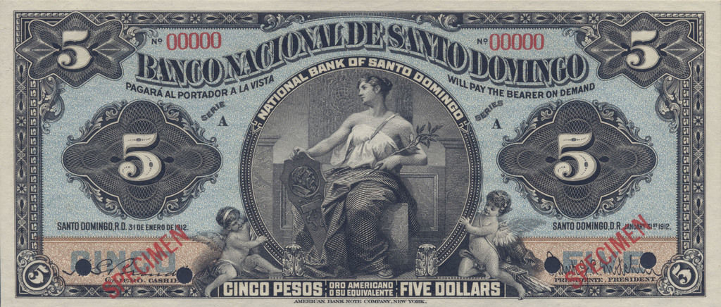 Dominican Republic 5 Dollar
