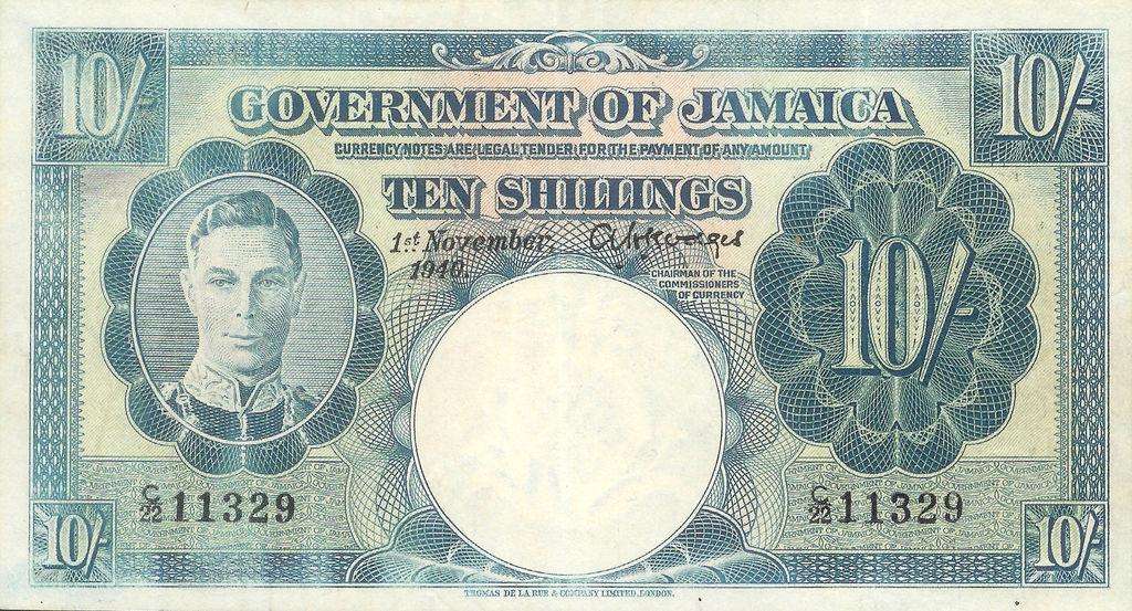 Jamaica 10 Shilling