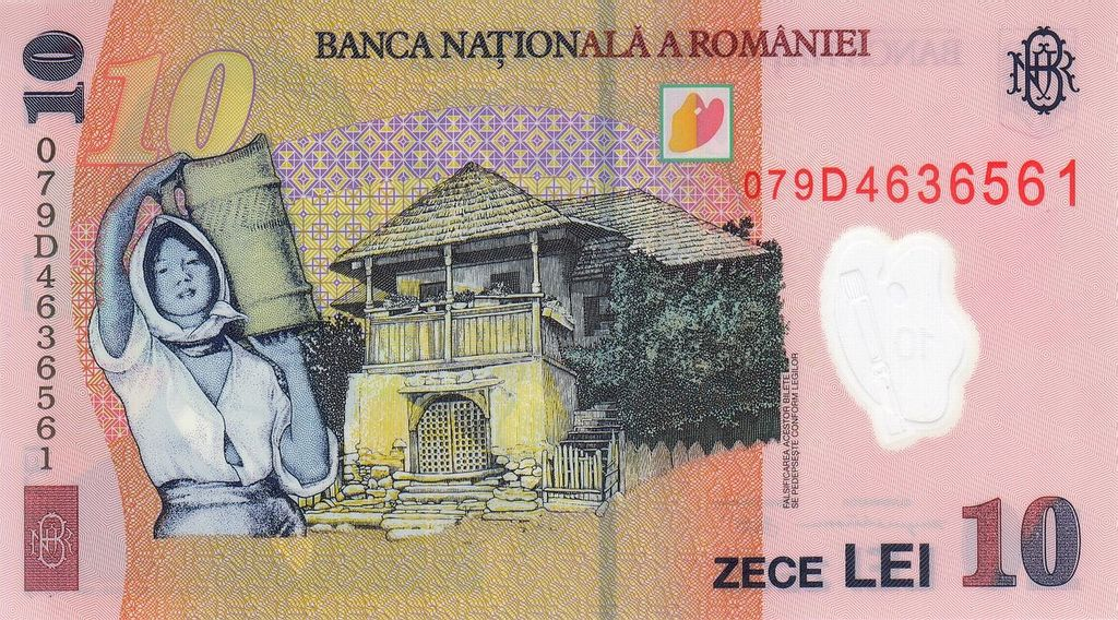 Banknote Index Banca Nationala A Romaniei