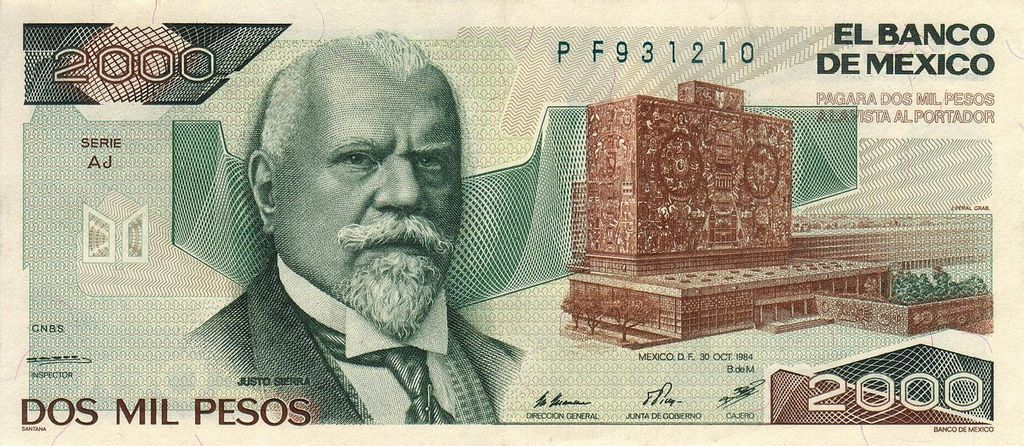Mexico 2 000 Peso