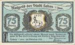 Germany, 75 Pfennig, 755.1d