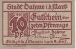 Germany, 10 Pfennig, D1.1a