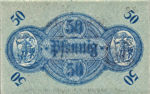 Germany, 50 Pfennig, B7.5