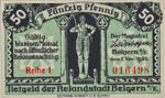 Germany, 50 Pfennig, B17.1b