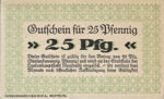 Germany, 25 Pfennig, N39.2a