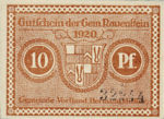 Germany, 10 Pfennig, R10.1a