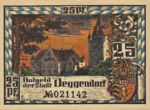 Germany, 25 Pfennig, D8.5a