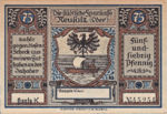 Germany, 75 Pfennig, 960.1a