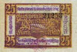 Germany, 25 Pfennig, F39.1b