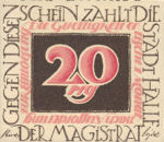 Germany, 20 Pfennig, 509.1a